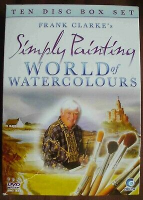 World of Watercolours Frank Clarke's Simply Painting - 10 DVD box set