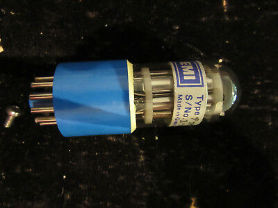 Photomultiplier EMI Electron Tube 97856 Used working when removed
