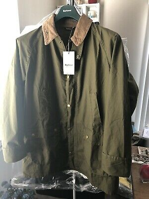 New Barbour Washed Bedale Jacket Japanese Limited Green Japan Size Xxl US XL