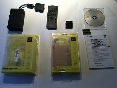 PS2 Remote control and multitap - For firsts PS2 models