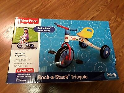 """Fisher Price """"Rock-A-Stack Tricycle"""" Front Wheel (Nib)"""