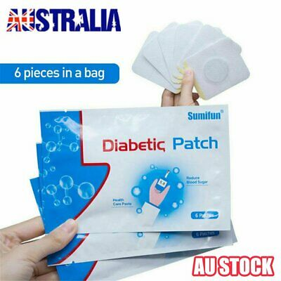 Diabetic Patch Stabilizes Blood Sugar Balance Glucose Plaster Patch VW