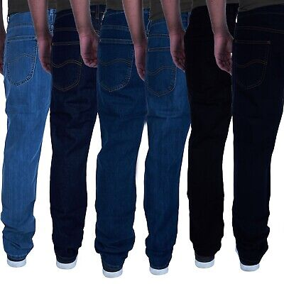 LEE Herren Jeans Brooklyn Straight Comfort Five Pocket Style Reißverschluss L452