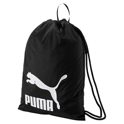 8a8019e2e9d9a PUMA ORIGINALS GYM Sack 074812 Grün 10 Unisex Fashion Turnbeutel Neu ...