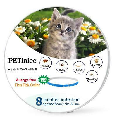 Flea and Tick Prevention for Cats-Prevents,Repels Fleas,Ticks & Lice Waterproof