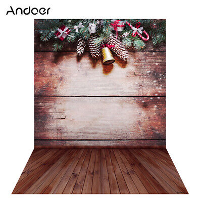 Andoer 1.5 * 2m Photography Background Backdrop Digital Printing Christmas L2P4