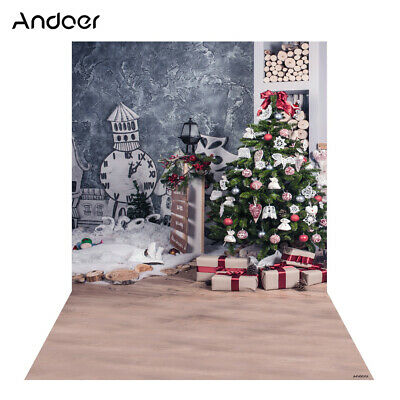 Andoer 1.5 * 2m Photography Background Backdrop Digital Printing Christmas W2Y3