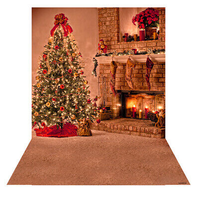 Andoer 1.5 * 2m Photography Background Backdrop Digital Printing Christmas K2Z8