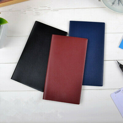 A6 Diary Monthly Plan Notebook Schedule Journal PU Leather Planner Organiser