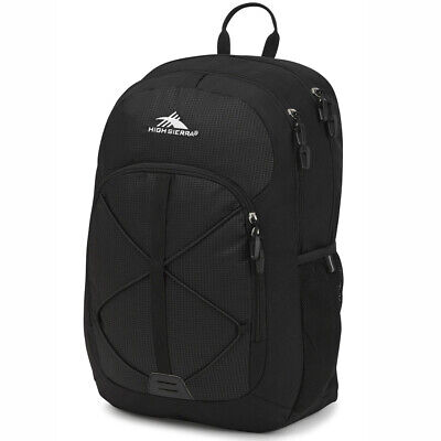 NEW High Sierra Daio Backpack Black