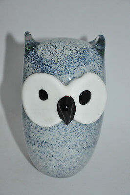 Chouette hibou dans le goût de iittaladesign Art Glass Owl collection verrerie
