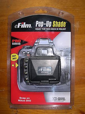 Delkin Pop-Up Shade for Nikon D40