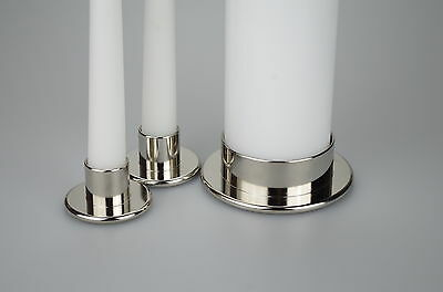 Unity Candle Holders Pillar Holder and Taper holders sold seperately