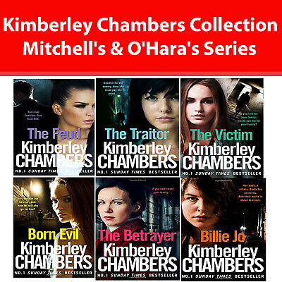 Kimberley Chambers Mitchell's & O'Hara's Series Collection 6 Books Set Billie Jo