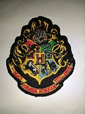 Harry Potter Hogwarts Embroidered Iron On Sew On PatchBadge For Clothes etc