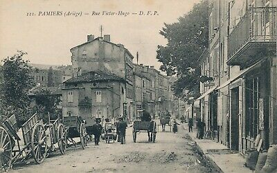 CPA - France - (09) Ariège - Pamiers - Rue Victor-Hugo