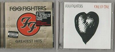 Foo Fighters - Foo Fighters Greatest Hits+ One B One TWO CD Albums