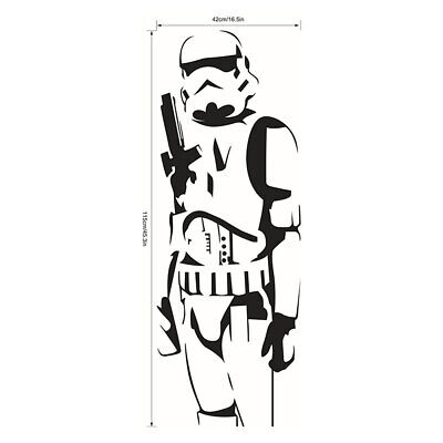 DIY Star Wars Character Wall Stickers Stormtrooper Decals Removable Art Posters