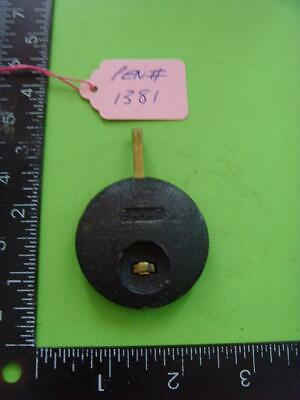 pen#1381 Single  1930's mantle  clock parts pendulum    68mm top to bottom