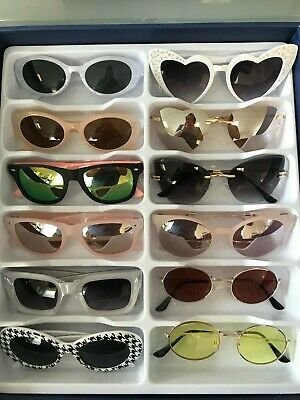 Job Lot 24 pairs of assorted sunglasses - Car Boot - Resale - Wholesale -REF325