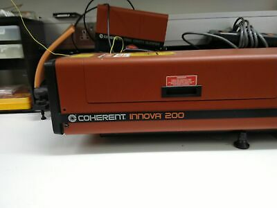 Coherent Innova 200 Argon Ion Laser With Transformer and Controller