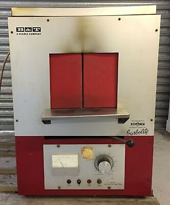 B&T CARBOLITE Laboratory Furnace / Oven MAX Temp 1200 C