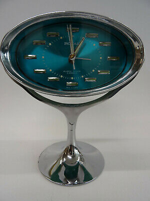 Samsung Royal 6 Vintage Uhr, Alarm Clock 2 Jewels Made in Korea, Space Age mint