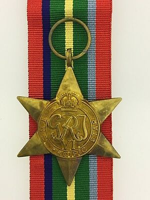 British WWII Atlantic Star full size veteran replacement medal SUPERIOR QUALITY