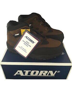 ATORN  4001 Brown Safety work trainers boots SIZE 6  ST/SMS