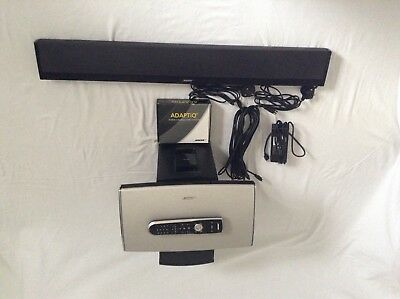 Bose Lifestyle 135 home cinema system subwoofer and sound bar is wireless