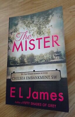 NEW RELEASE! The Mister Paperback Book by E L James