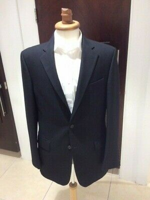 Magee Marlborough style Black Jacket 2 Button wool vents Ex Hire Good Condition