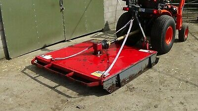 6ft rotary topper for small and compact tractors, LSM M6 topper