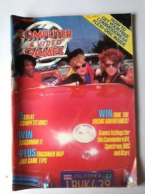 computer and video games magazine - Vintage Magazine from October 1984