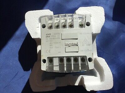 LEGRAND 42402 Panel Mount Transformer