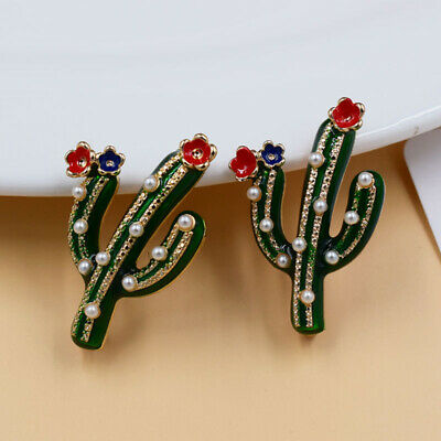 Women Badge Corsage Plant Brooch Cactus Pin Jewelry Gift Jewelry ONE