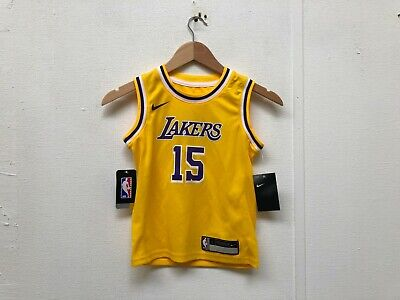 f33b846c619 Nike NBA Los Angeles Lakers Kid s Icon Jersey - 7 Years - Axel 15 - NWD