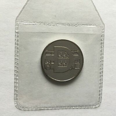 Great British Coin Hunt New A-Z Alphabet 10p  D Double Decker Bus 2018 BNUC Rare