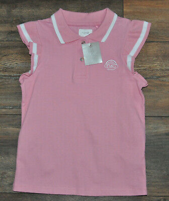 Next 6 Years Girls Summer Polo Shirt Casual Shirt Top Blouse Pink BNWT