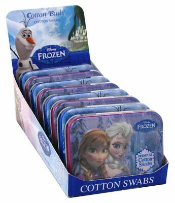 Cotton Buds Disney Frozen Travel Cotton Swabs 30 ea (Pack of 8)