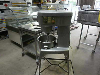 crypto EF20 dough mixer with bowl + hook 240v working order 10 speed