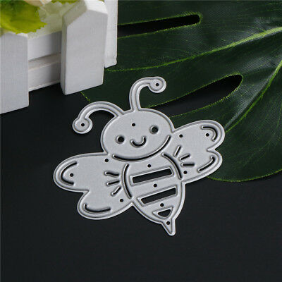 Cute Bee Metal Cutting Dies Stencils For Scrapbooking DIY Album Cards Making ZF