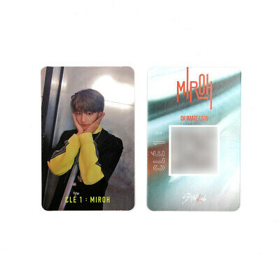 [STRAY KIDS]SKZ / Cle1 : MIROH Official Photocard/CLE 1:MIROH LOGO/HYUNJIN