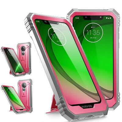"For Moto G7/G7 Plus /G7 Power /G7 Play Case ""Shockproof""Cover-【Revolution】Pink"