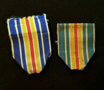 Lot anciens rubans Médaille des Blessés WW1 French Wounded Medal ribbons