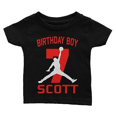 Personalize Basketball Jordan Birthday Shirt