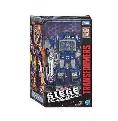 Transformers toy Generations War for Cybertron Siege Voyager Soundwave Wave