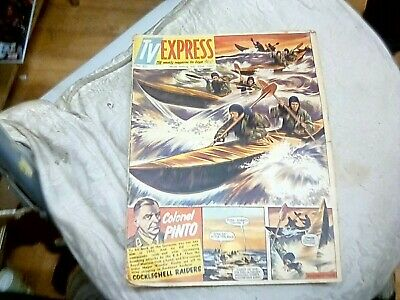 tv express published july 22nd 1961-dangerman in this issue!