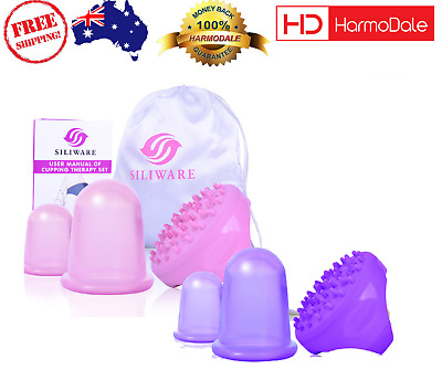 ANTI CELLULITE Cup with Cellulite Massager Brush Cupping Therapy Sets