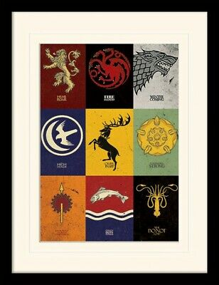 Game Of Thrones - Lannister Stark Framed Collector Poster (16x12in) #101560